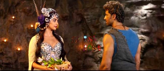 Hrithik Roshan Pooja Hegde romance Mohenjo Daro
