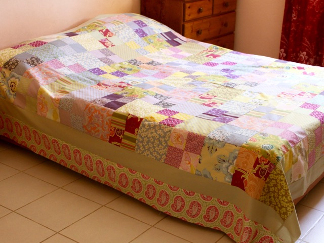 Gypsy quilt top