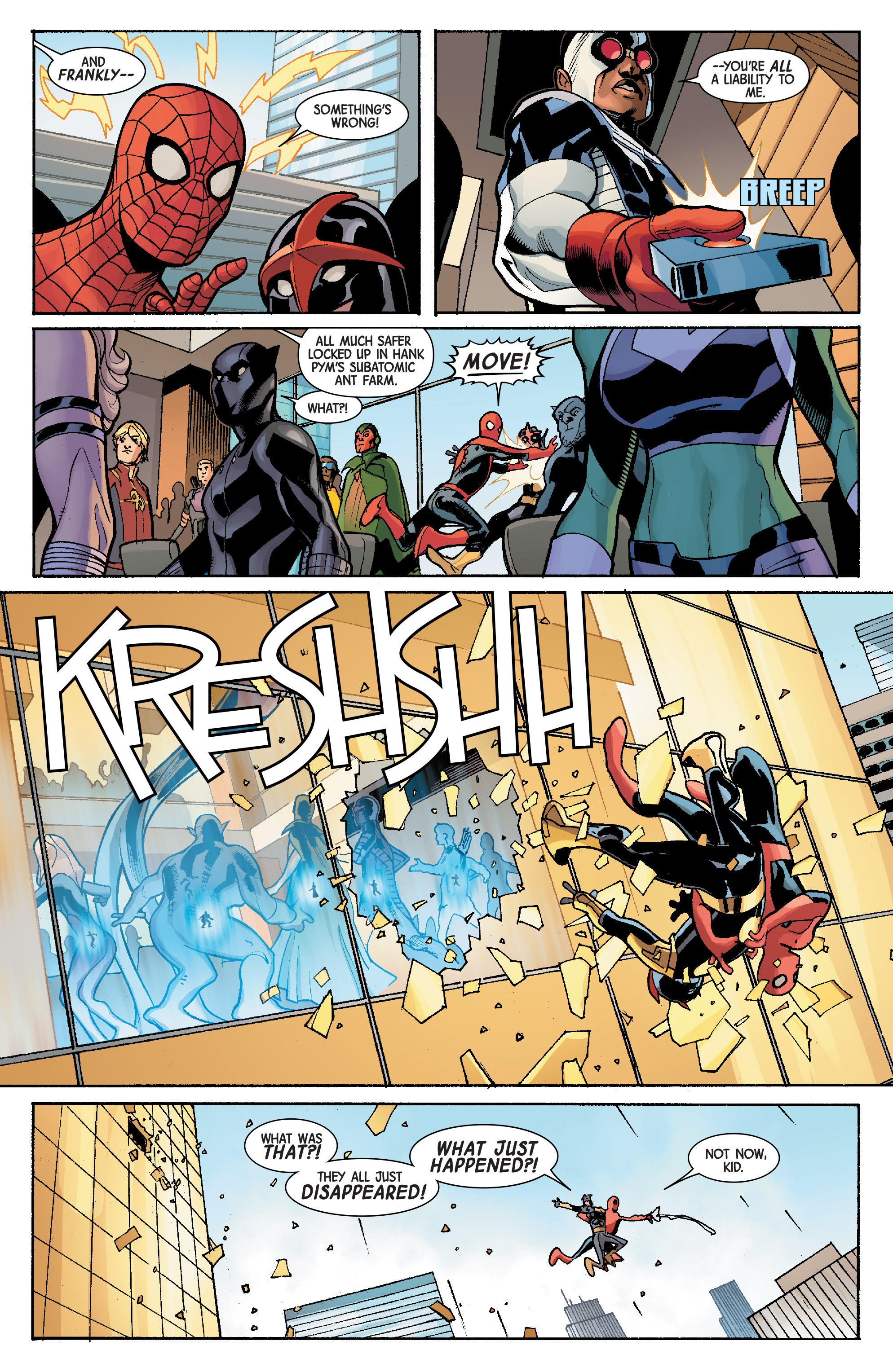 Read online Avengers & X-Men: AXIS comic -  Issue #5 - 8