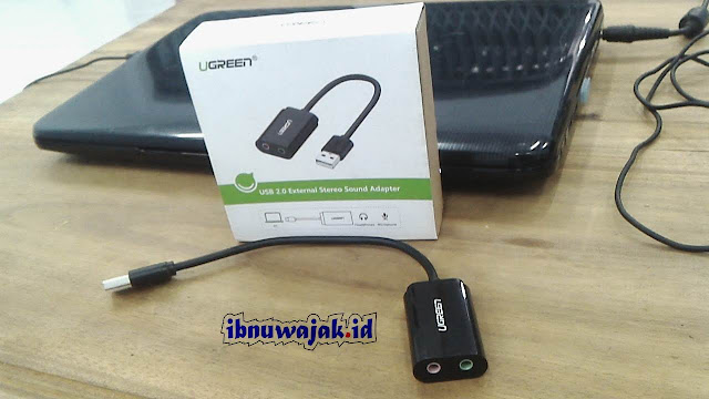 review usb soundcard ugreen PID 30724