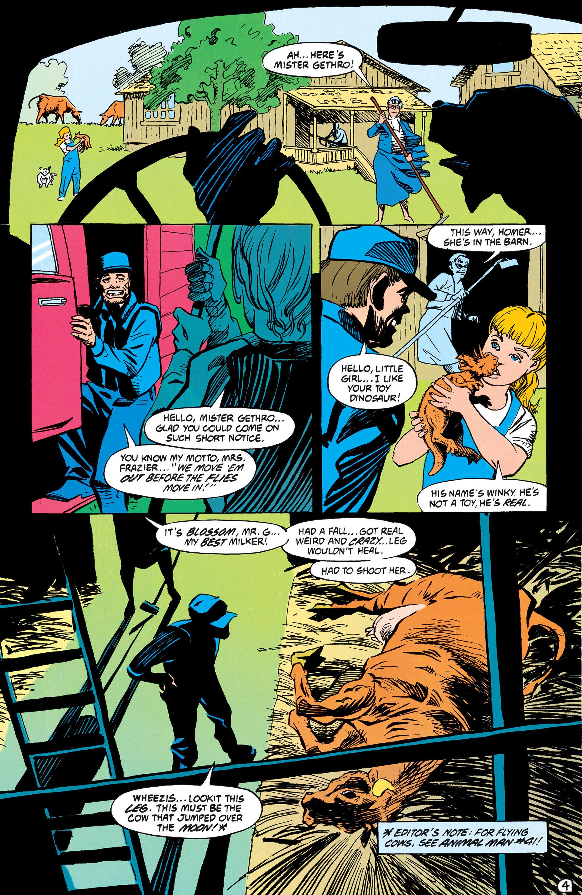 Read online Animal Man (1988) comic -  Issue #42 - 5