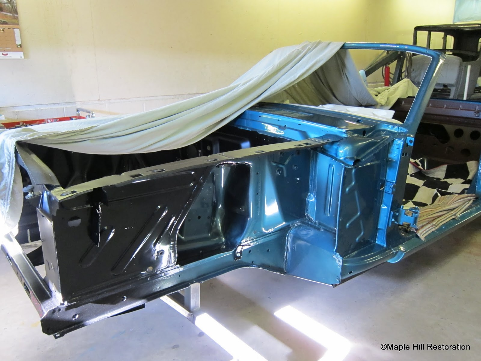 Just the details 1965 mustang convertible restoration
