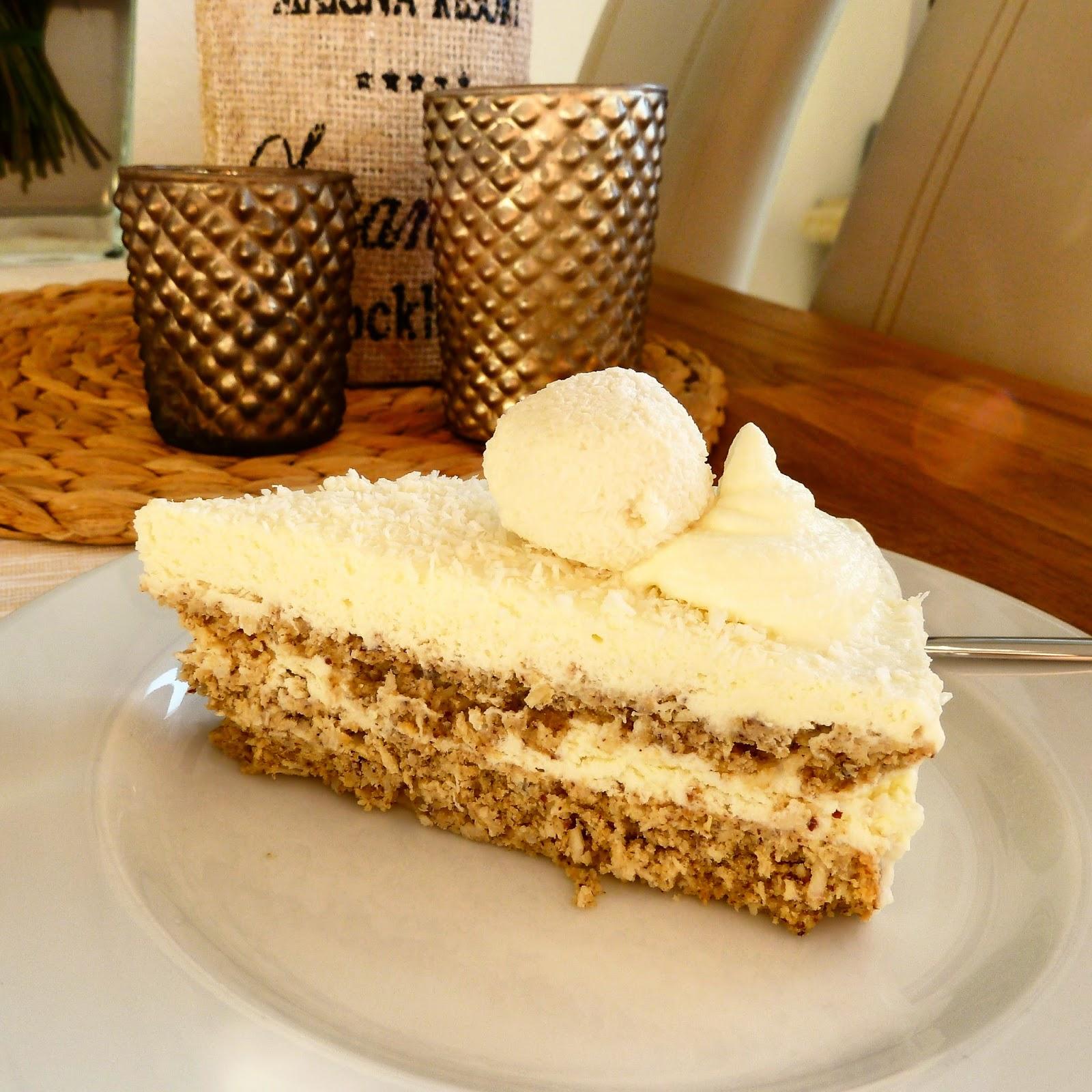 Low Carb Haven Kokos Raffaello Torte