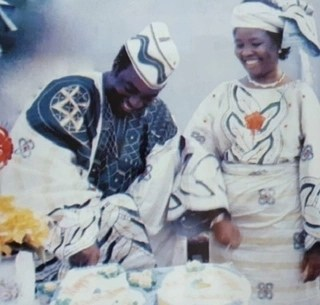 Throw back of Pastor David Oyedepo and his wife