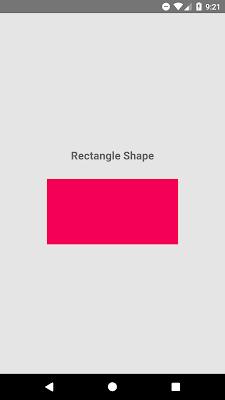 React Native Create Custom Rectangle Shape View