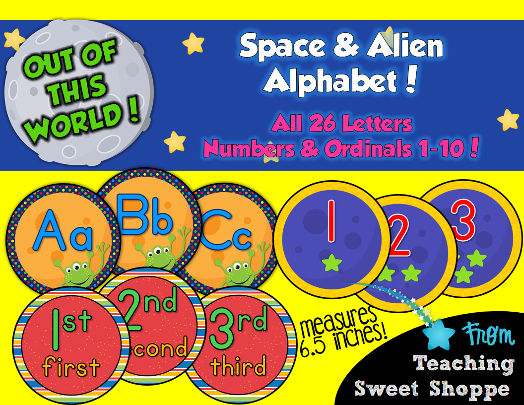 The Teaching Sweet Shoppe Busy Busy Busy New School Is Out Of This World Products