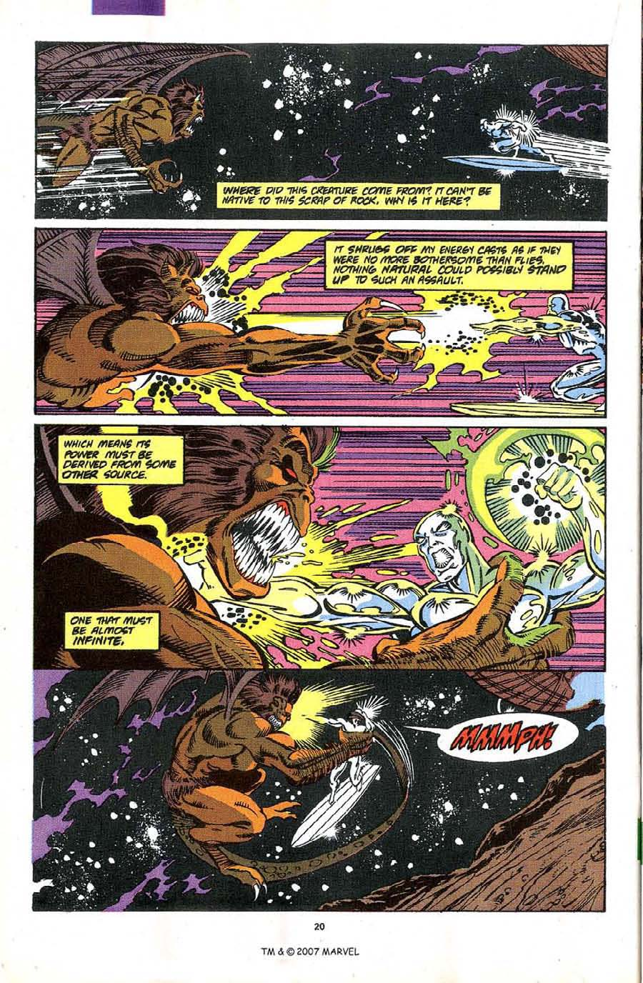 Read online Silver Surfer (1987) comic -  Issue #49 - 22