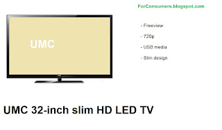 UMC 32-inch HD LED TV review