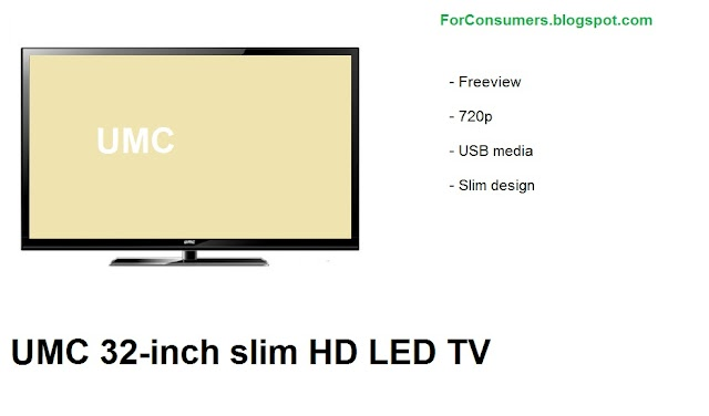UMC 32-inch slim HD LED TV specs and review