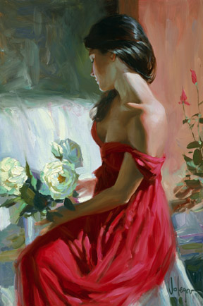 Adorable Oil paintings by Russian Artist Vladimir Volegov