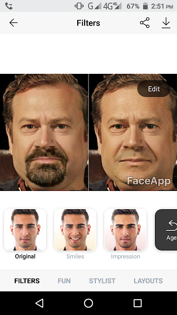 Convert Photo To Old Age Online - FaceApp Apk - The Gondal