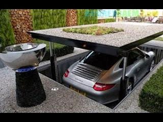 Contoh Garasi Mobil Minimalis Modern Yang Menarik