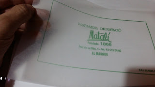 mantelina de papel antigrasa