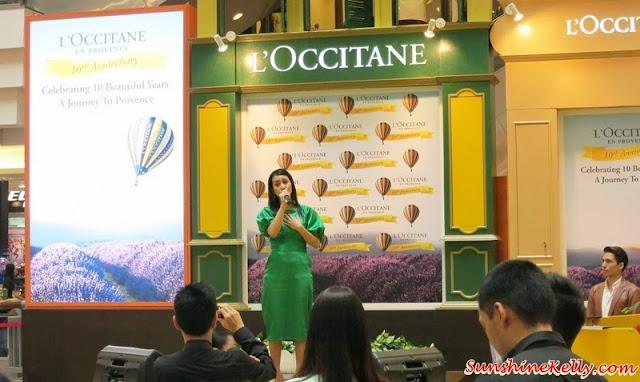 l'occitane Malaysia, l'occitane Malaysia 10th Anniversary Celebration, marsha londoh, performance