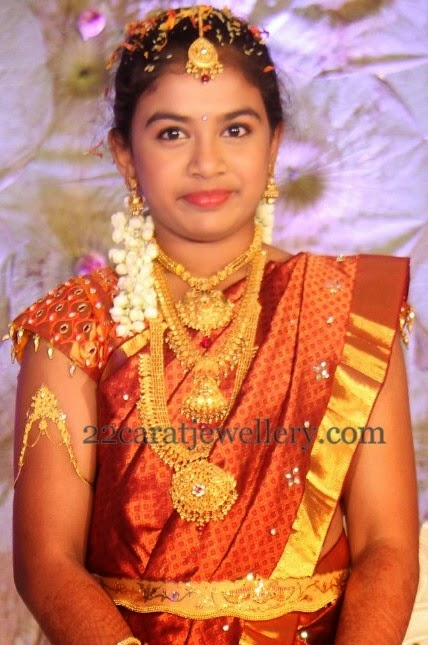 Traditional Jewelry For Saree Ceremony Jewellery Designs
