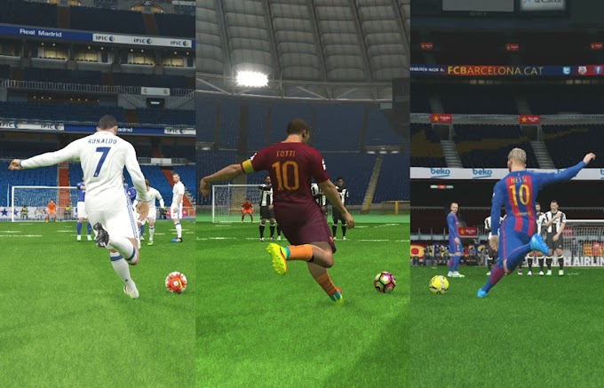 PES 2017 Freekick Trick : Knuckle Shot, Panenka Penalty Kick And Curve Freekick
