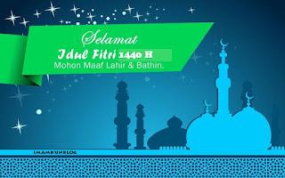 Ucapan Selamat Hari Raya Idul Fitri 1441 H 2020