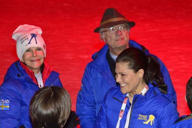 King Carl Gustaf of Sweden and Queen Silvia of Sweden, Crown Princess Victoria of Sweden, Prince Carl Philip of Sweden and Sofia Hellqvist