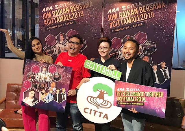 Citta Mall, #CITTAMALL2019, New Year's Eve, Countdown Party, NYE Party, Shopping Mall, Lifestyle