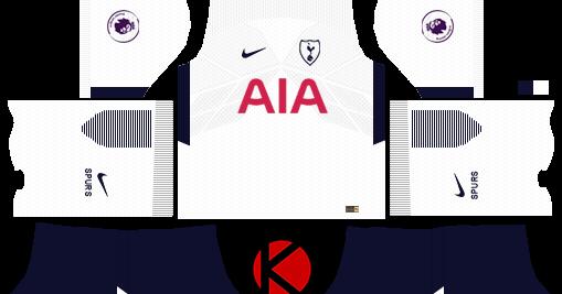 Tottenham Kit Printing Nameset x maglia calcio Bianco PRO S Premier League