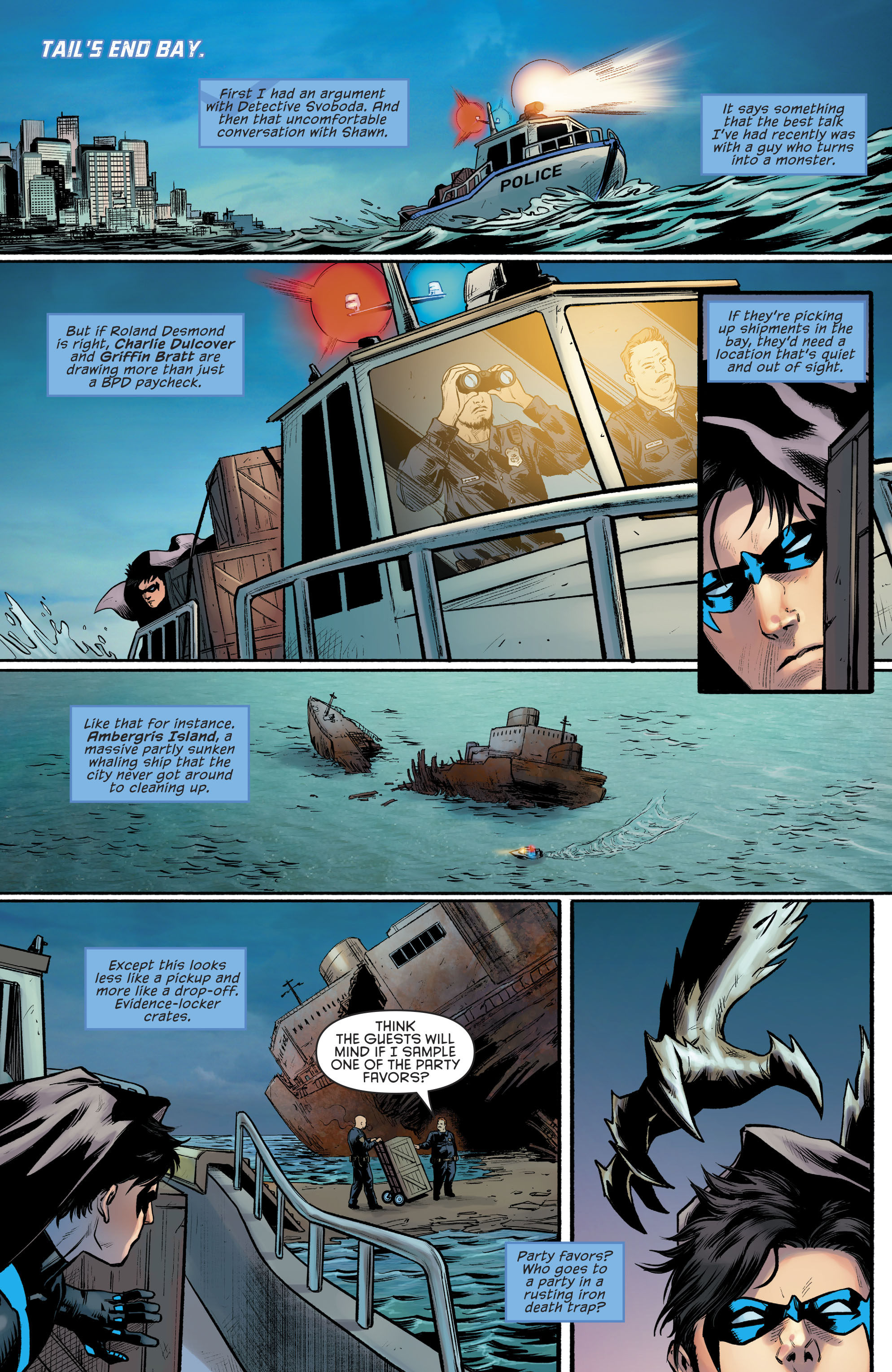 Read online Nightwing (2016) comic -  Issue #23 - 19
