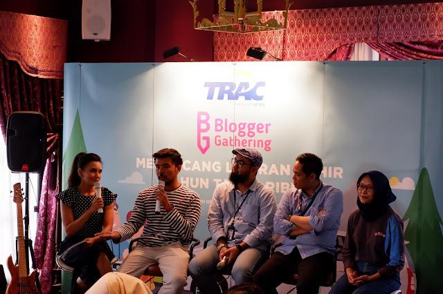Blogger Gathering bersama TRAC