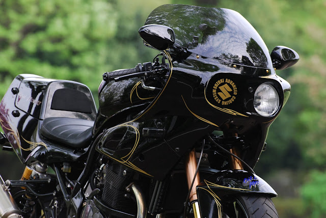 Suzuki GS1200SS By Bagus Motor Cycle Hell Kustom
