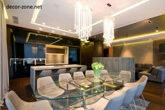 modern chandeliers for dinning room, modern crystal chandeliers