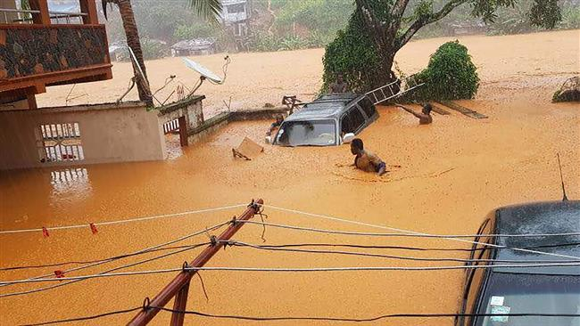 400 bodies recovered from Sierra Leone landslide, 600 still missing