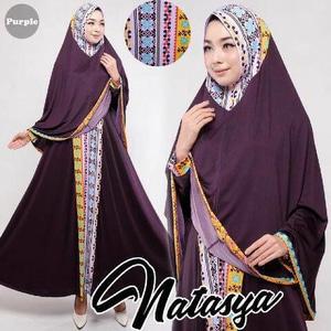 Gamis-Syar'i-Murah-Natasya-purple-cantik-terbaru-modis