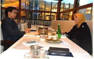 Bunda Illiza Undang Irwan Djohan 'Dinner' di Restoran Mewah Jakarta