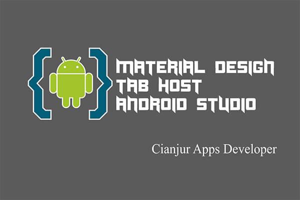 Belajar Cara Membuat TabHost di Android Studio