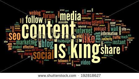 Konten Berkualitas - content is king