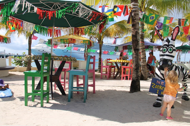 ranta värikästä meksikoa