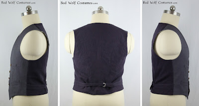 "11th Doctor ""scales"" waistcoat sewing pattern"