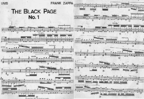 """The Black Page"" With Bozzio On Drums (video)"