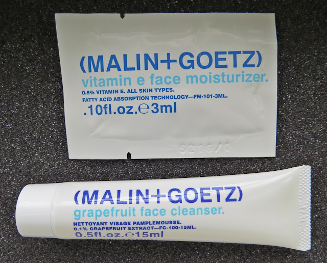 MALIN + GOETZ Grapefruit Face Cleanser and Vitamin E Face Moisturizer