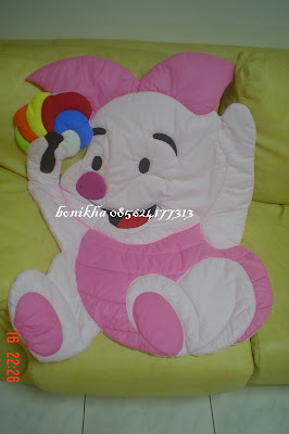bed cover piglet