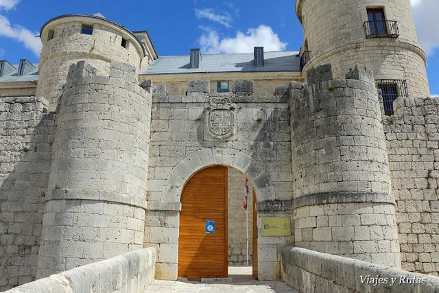 Puerta de entrada al Castillo de Simancas