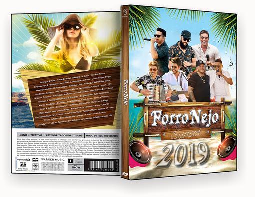 CAPA DVD – Forronejo Sunset 2019 – ISO
