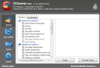 Bilgisayar temizlik aracı