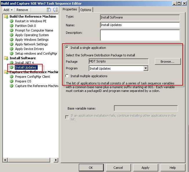 Sccm Use Task Sequence Variable In Command Line