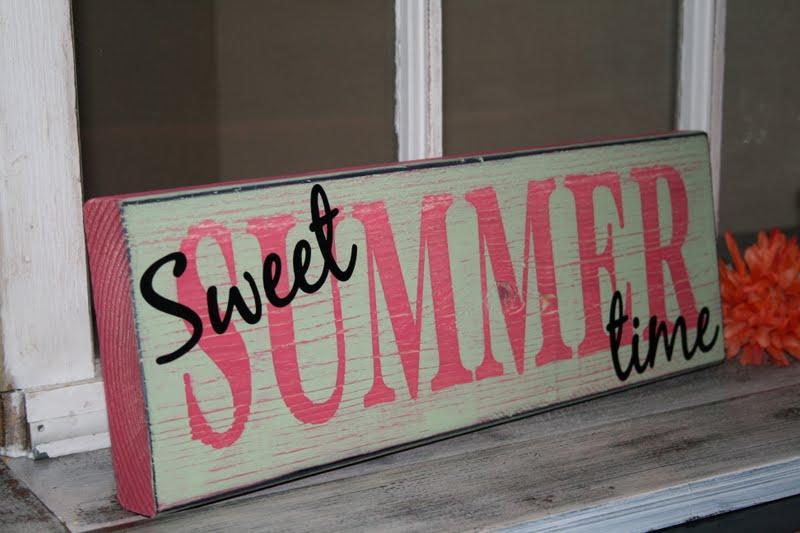 Redefining C Sweet Summer Time Sign