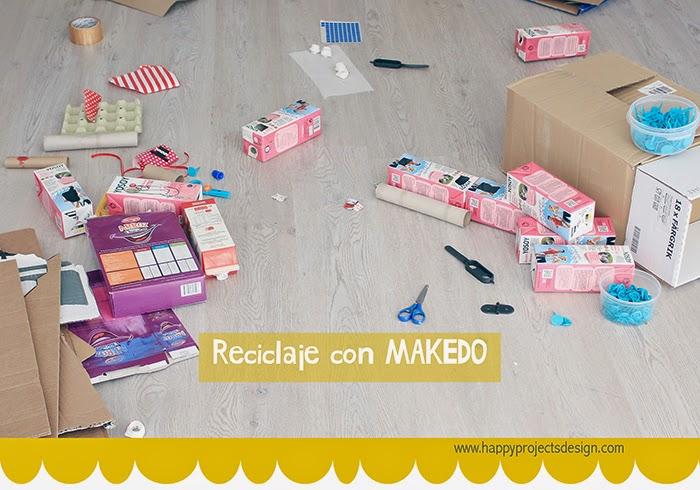 reciclaje con MAKEDO