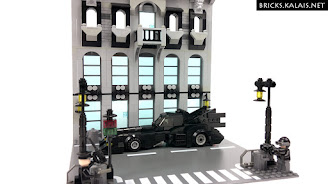 [MOC] Batmobile - pojazd Batmana z 1989