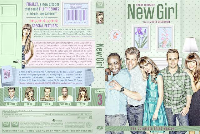 New Girl Season 3 DVD Cover