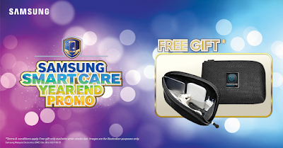 Samsung Smart Care Free Gift Year End Promo