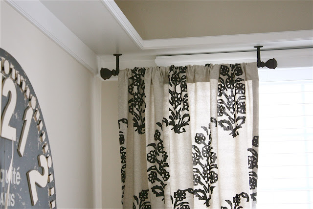 The Yellow Cape Cod Ceiling Mount Drapery Trick