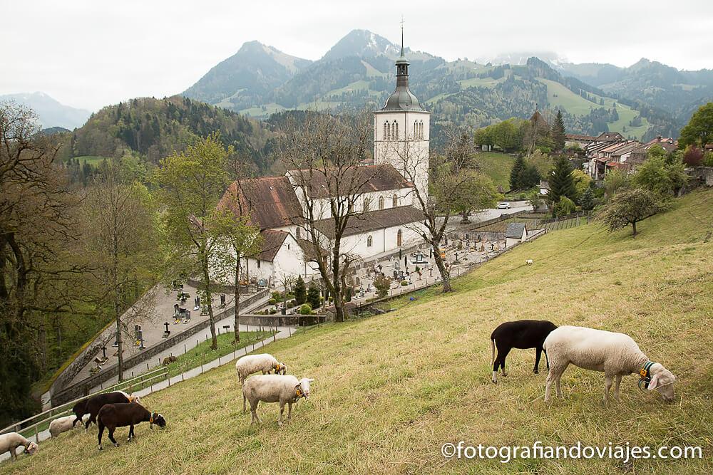 Gruyeres en Suiza