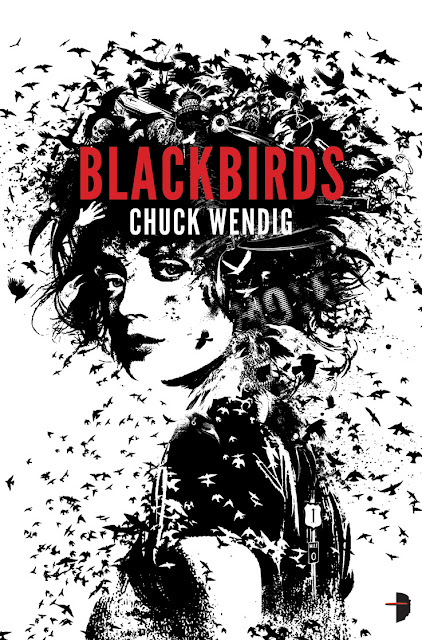 2012 Debut Author Challenge Update - Cover - Blackbirds by Chuck Wendig